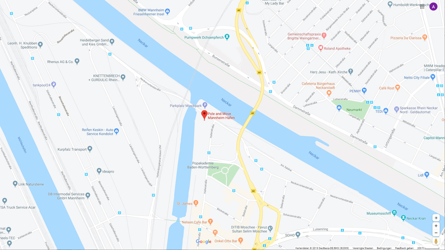 Poledance Trainer Mannheim